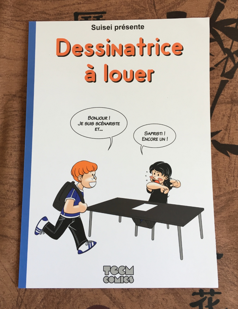 Comic illustrator for rent [French version]